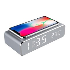 Digital alarm clock + Charger for your phone
