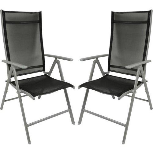 Garden Royal -Verstelbare stoelen - 2 Stoelen