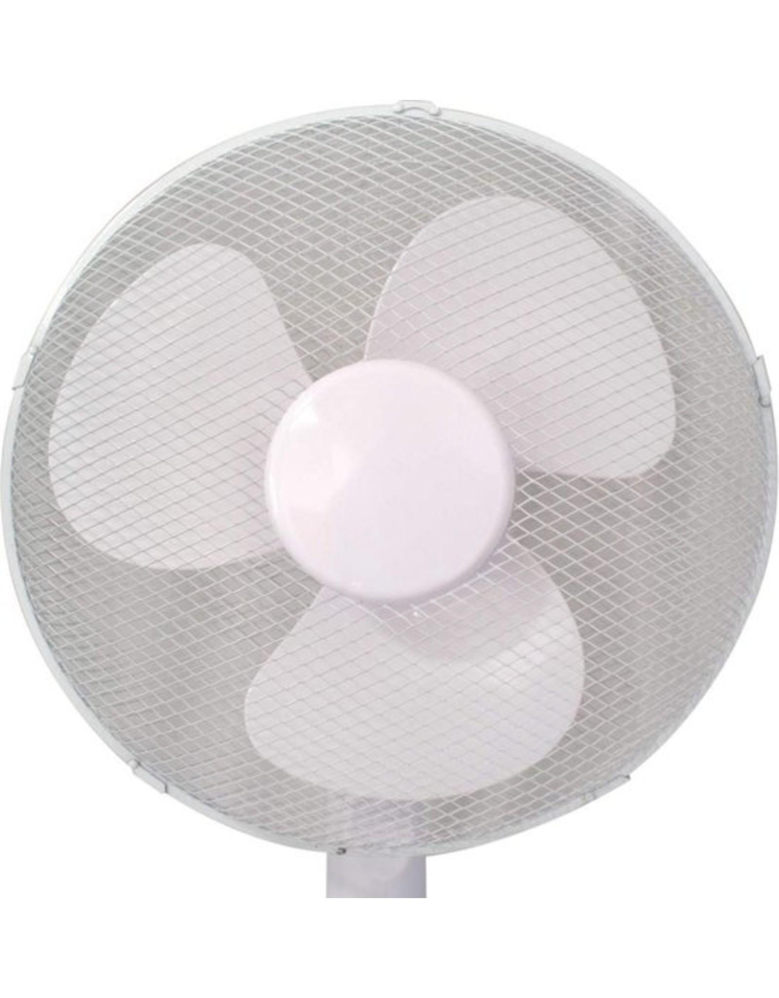 Cool Serie Statief ventilator - 40 cm diameter - 3 standen - Wit