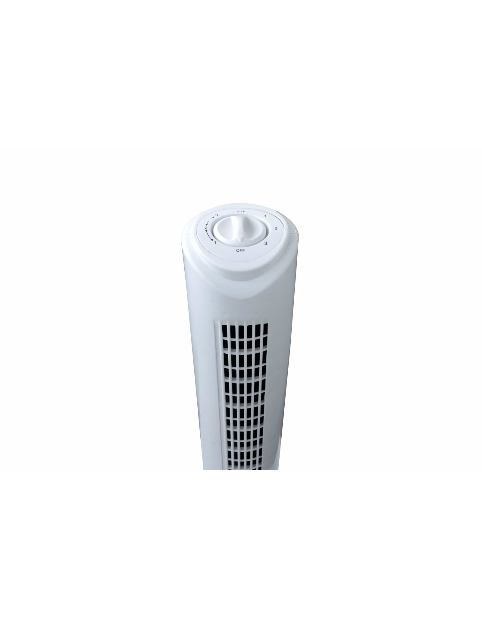 Tower fan - 79 cm height - 3 modes - white