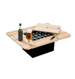 Haushalt Bierkist - Houten tafelblad