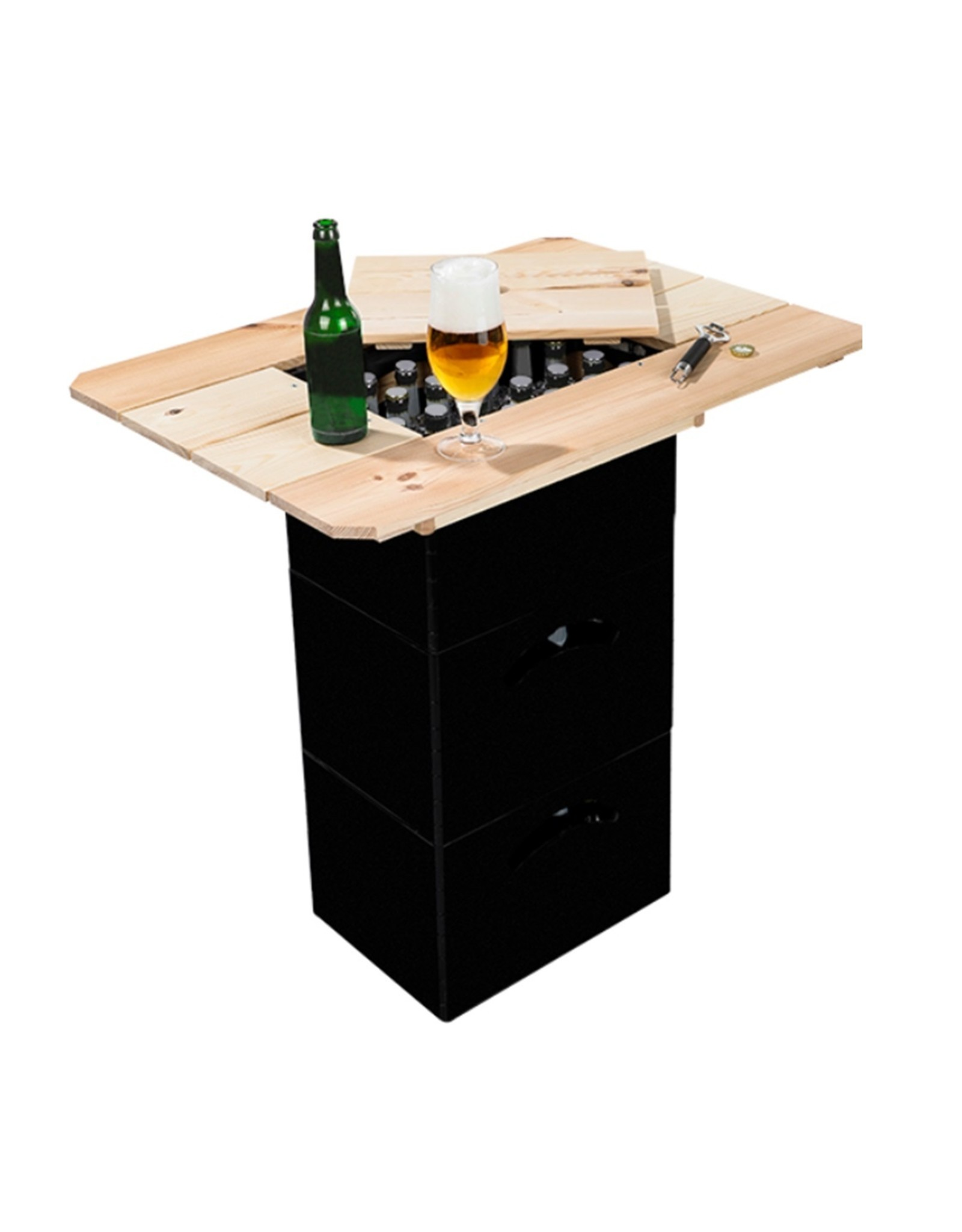 Haushalt Beer box - Wooden tabletop
