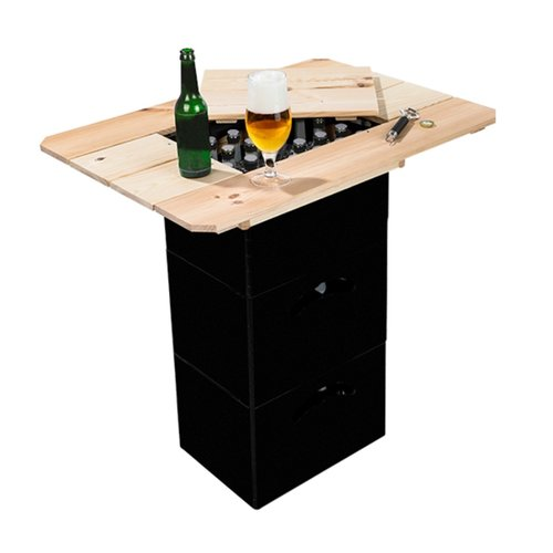Beer box - Wooden tabletop