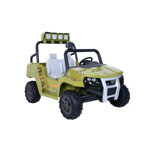 Rollplay Accuvoertuig - Dino Explorer Suv 12v - Groen