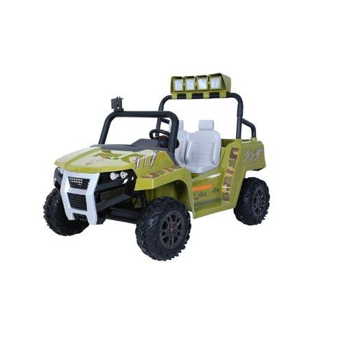 Rollplay Battery Vehicle - Dino Explorer Suv 12v - Green