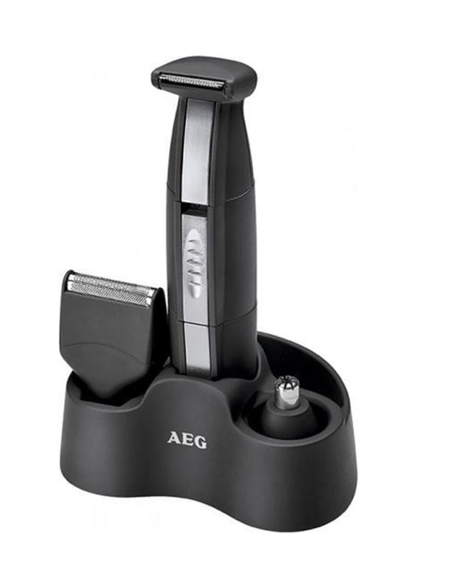 AEG AEG - Precisie Trimmerset 3-in-1- Zwart