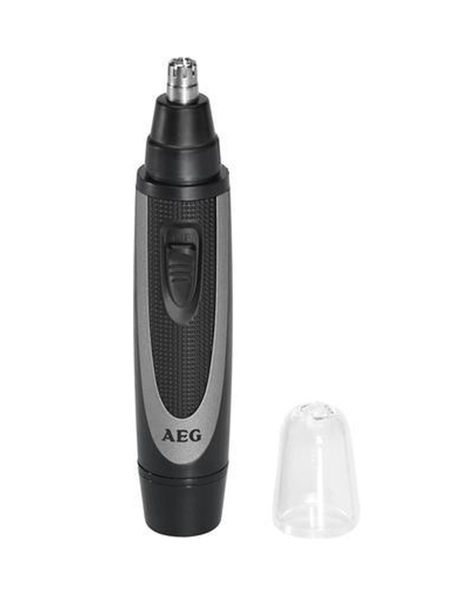AEG AEG - Neus- en oorhaartrimmer - Zwart