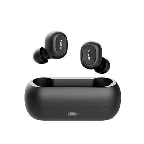 QCY T1C Volledig draadloos In-Ear oordopjes (ZWART) | Bluetooth 5.0