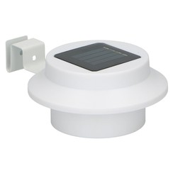 Progarden - Solar fence and roof gutter lamp - set of 2