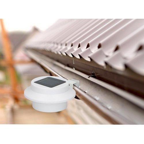 Pro Garden Progarden - Solar fence and roof gutter lamp - set of 2