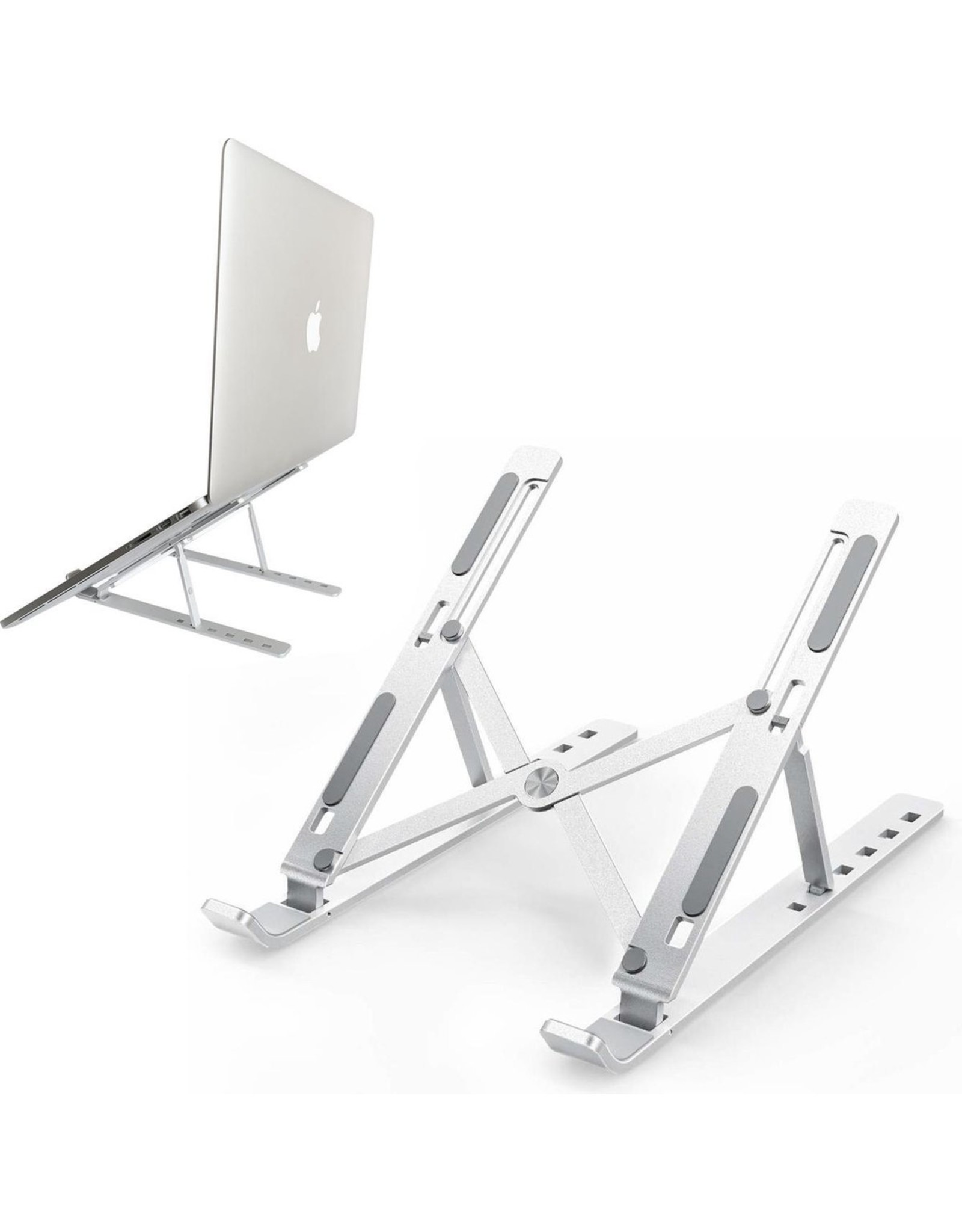 Small laptop and tablet stand