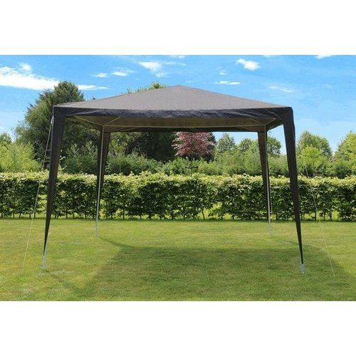 Lesli Living Partytent - In Wit  & Antraciet