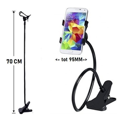 Universal Flexible Phone Holder - with Clamp