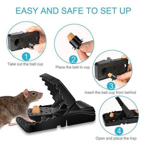 Muizenval - Rattenval - 6 stuks - Herbruikbaar