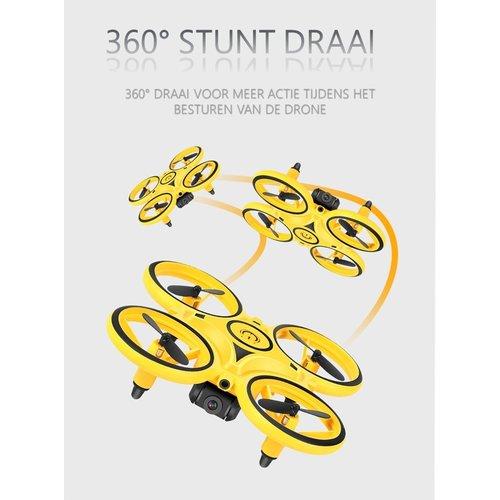 Mini Drone - Y222 - Met camera en afstandsbediening - Geel