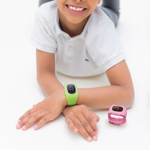 Child watch with GPS tracker