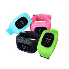 Kinder horloge met GPS tracker