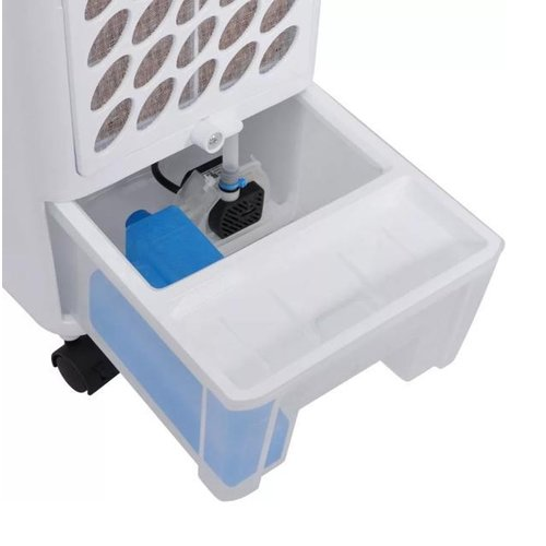 2-in-1 Mobiele Aircooler en Luchtbevochtiger