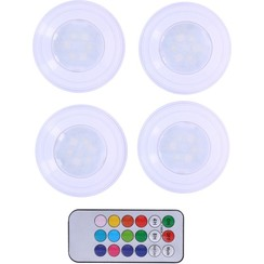 Grundig - Wireless multi-color LED lamp set incl. Remote control (5-piece)