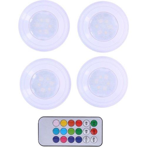 Grundig Grundig - Draadloze multi-color LED lampen set incl. afstandsbediening (5-delig)