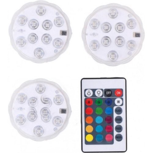 Grundig Grundig - Wireless multi-color LED lamp set incl. Remote control (5-piece)