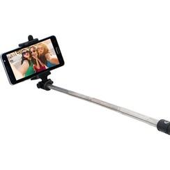 Grundig Inklapbare Selfie Stick - Bluetooth - IOS & Android - Inclusief USB Kabel