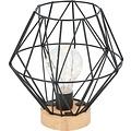 Grundig Grundig mood lamp - 12 LEDs - Ø17.5 x 18 cm - wood / metal
