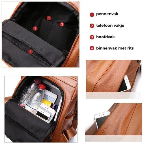 Anti-theft backpack - Women's backpack