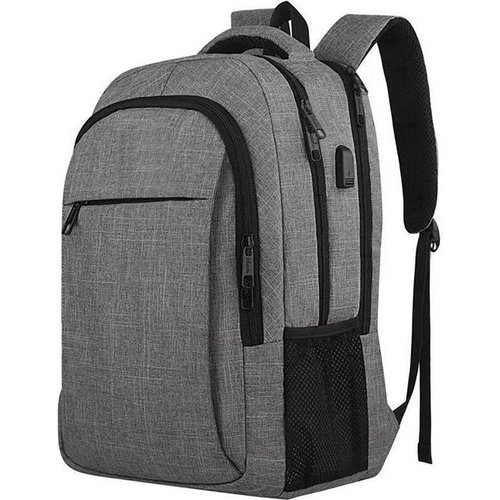 33L Backpack with 15.6 Inch Laptop Compartment - Splashproof Anti-theft Backpack With USB