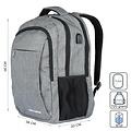 33L Rugzak met 15.6 Inch Laptop Vak - Spatwaterdicht Anti-diefstal Backpack Met USB
