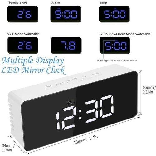 Multifunctional Digital LED Alarm Clock