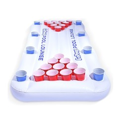 Go Fun - Inflatable Beerpong set - For swimming pool or beach