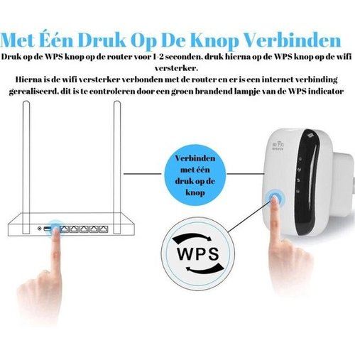 Wifi repeater - Signal Amplifier - Wireless & Wired