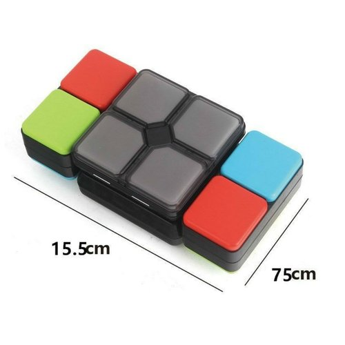 Magic LED Cube - 4 different games - Skill game
