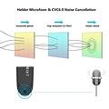 New Bee - Draadloze headset - Bluetooth 5.0 - Noise cancelling - Zwart