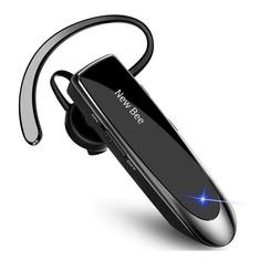 Draadloze headset - Bluetooth 5.0 - Noise cancelling - Zwart