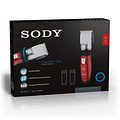 SODY SODY - SD2013 - Trimmer Set - Rechargeable - Red & Gold