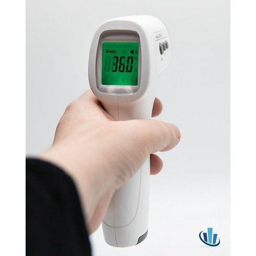 Medische infrarood Voorhoofdthermometer