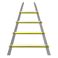 Dunlop - Training ladder - 4 metres long - incl. ground spikes