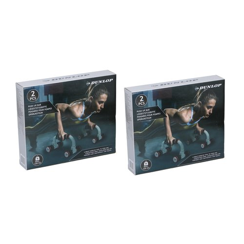 Dunlop Dunlop - Push up Bar - Push up supports - 2 Pieces - For him and her