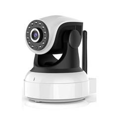 IP-camera - Met Bewegingsdetectie - 720p - Wit