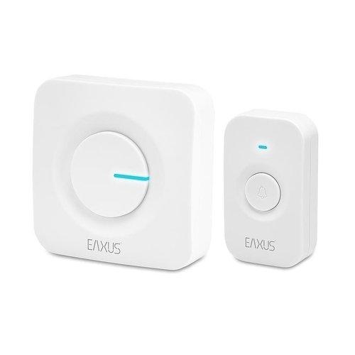 Eaxus - Wireless Doorbell - 2-Piece - White
