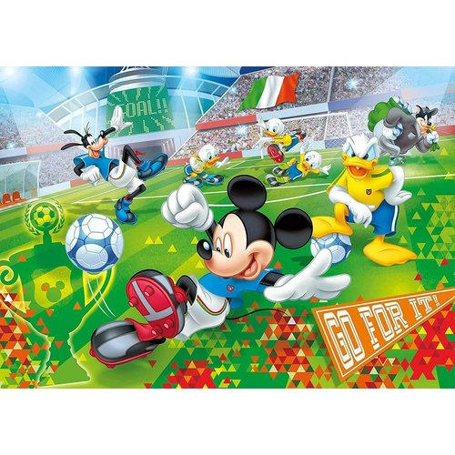 Clementoni - Puzzle - Mickey Mouse - 24 pieces