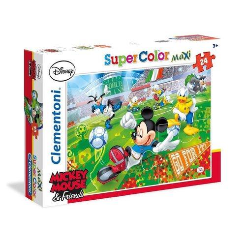Clementoni - Puzzel - Mickey Mouse - 24 stuks