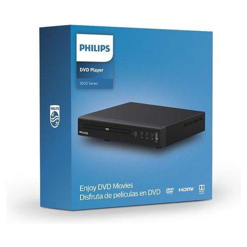 Philips - TAEP200 - DVD Player - with CD support - Black