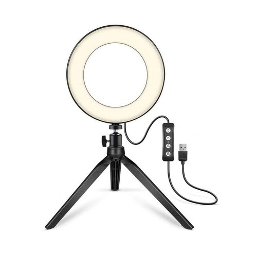 Parya Official - LED Ringlight - Met Telefoonhouder - 40 cm