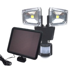 Grundig - Solar lamp - with motion sensor - 2x5 Watt