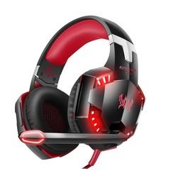 Kotion Each - G2000 Gaming Headset - Zwart/Rood