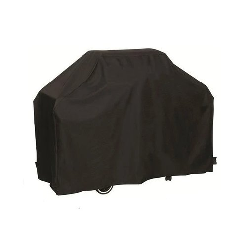 Barbecue protective cover - Black - Including drawstring