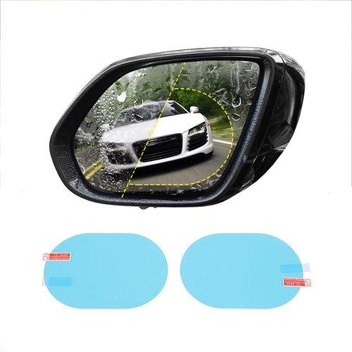 Merkloos Anti-Condens Folie - Voor Auto spiegel